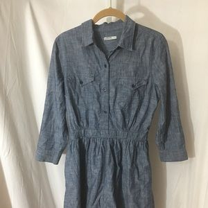 #350–. GAP blue casual dress size S